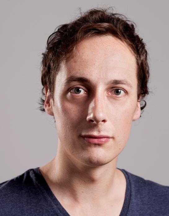 headshot by Claes Gellerbrink